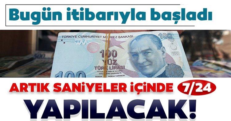 MERKEZ BANKASI FAST SİSTEMİNİ DEVREYE ALDI