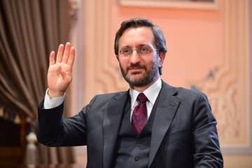 """Cumhurbaşkanlığı İletişim Başkanı Prof. Dr. Fahrettin Altun'un """"Dijital Çağda Medya Okuryazarlığı"""" projesinin açılış programına katıldı."""