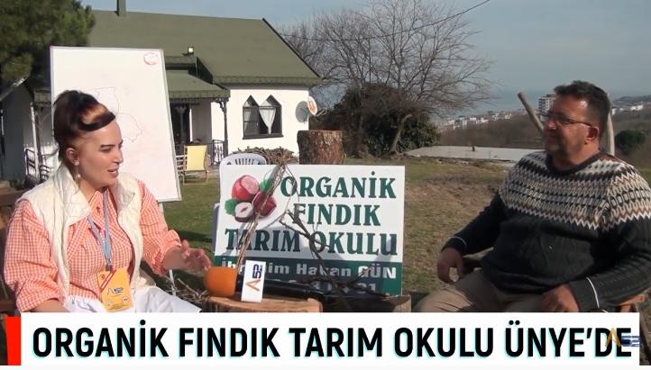 """ÜNYE'DE BİR İLK """"TARIM OKULU"""""""