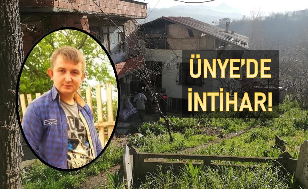 ÜNYE'DE GENÇ KENDİNİ ASARAK İNTİHAR ETTİ