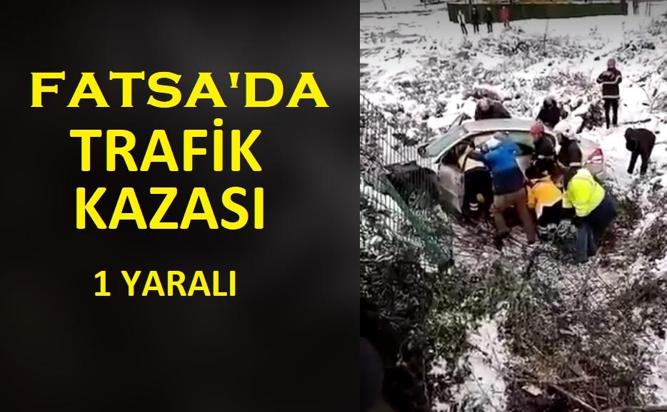 FATSADA TRAFİK KAZASI