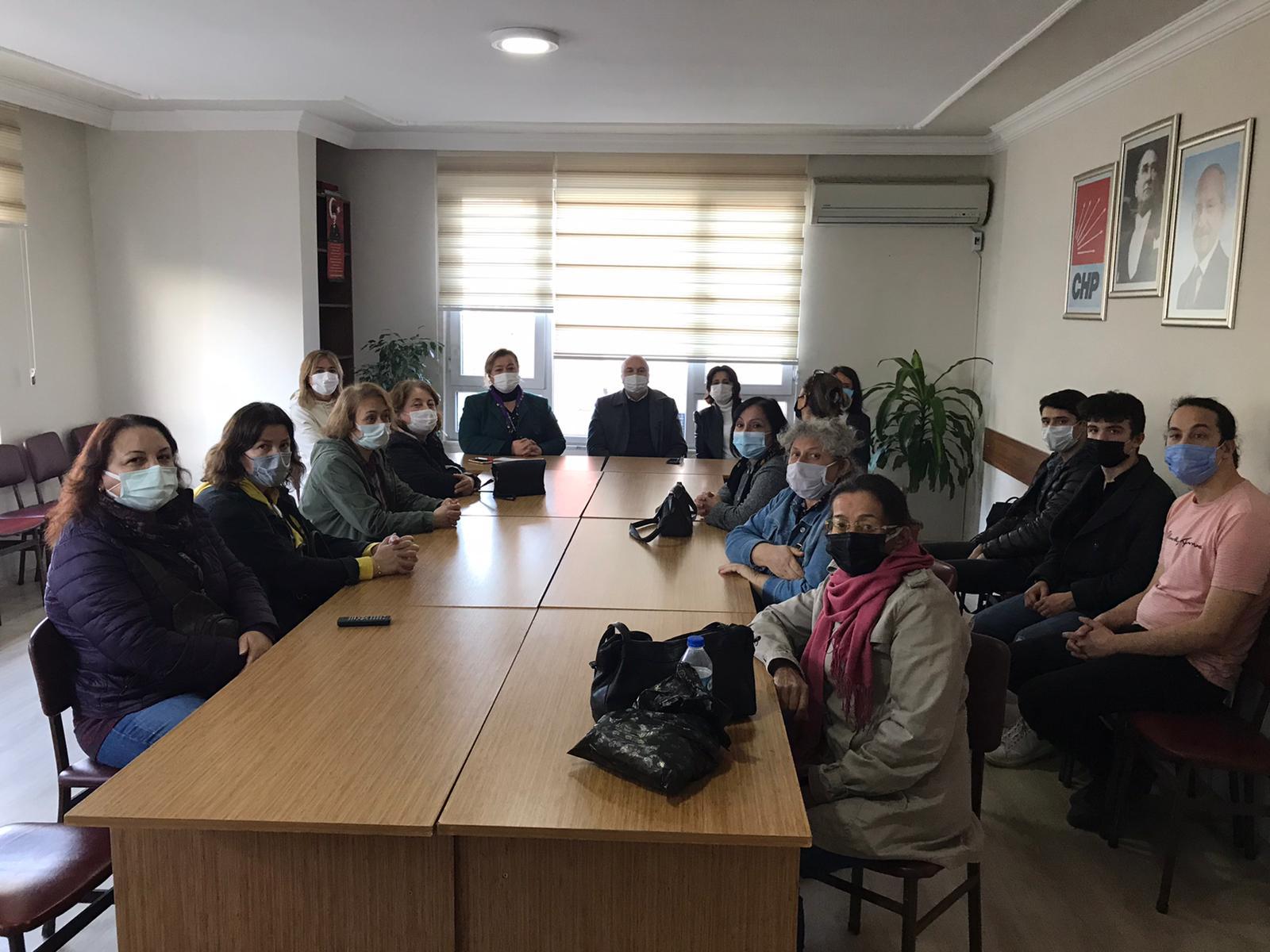 """CHP'li Füsun Sökmez'den Ünye'ye """"YaşamHak Projesi"""" Ziyareti"""