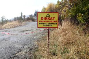 ALTINORDU'DA BİR MAHALLE KARANTİNAYA ALINDI