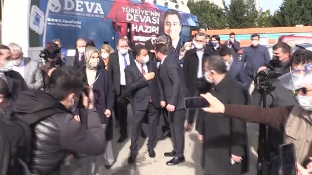 DEVA Partisi Genel Başkanı Babacan Ordu'da