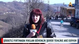 TEHLİKELİ YOL VATANDAŞI KORKUTUYOR