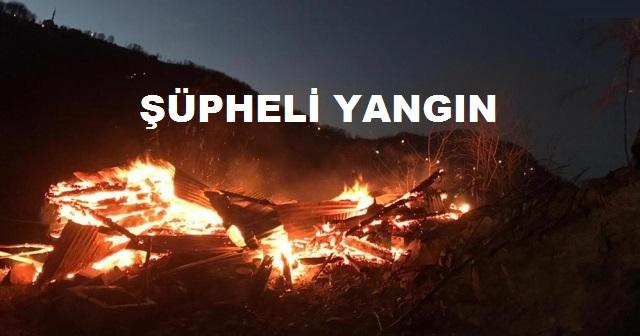 ÜNYE'DE EV YANGINI