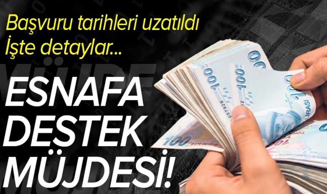 DESTEK DE BAŞVURU SÜRESİ UZATILDI