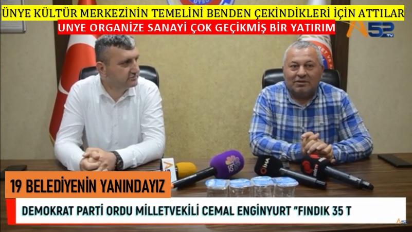 "CEMAL ENGİNYURT ""FINDIK 35 TL OLMALI"""