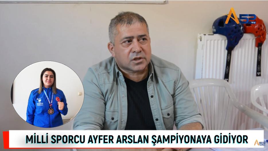 AYFER ARSLAN TÜRKİYE ŞAMPİYONASINDA