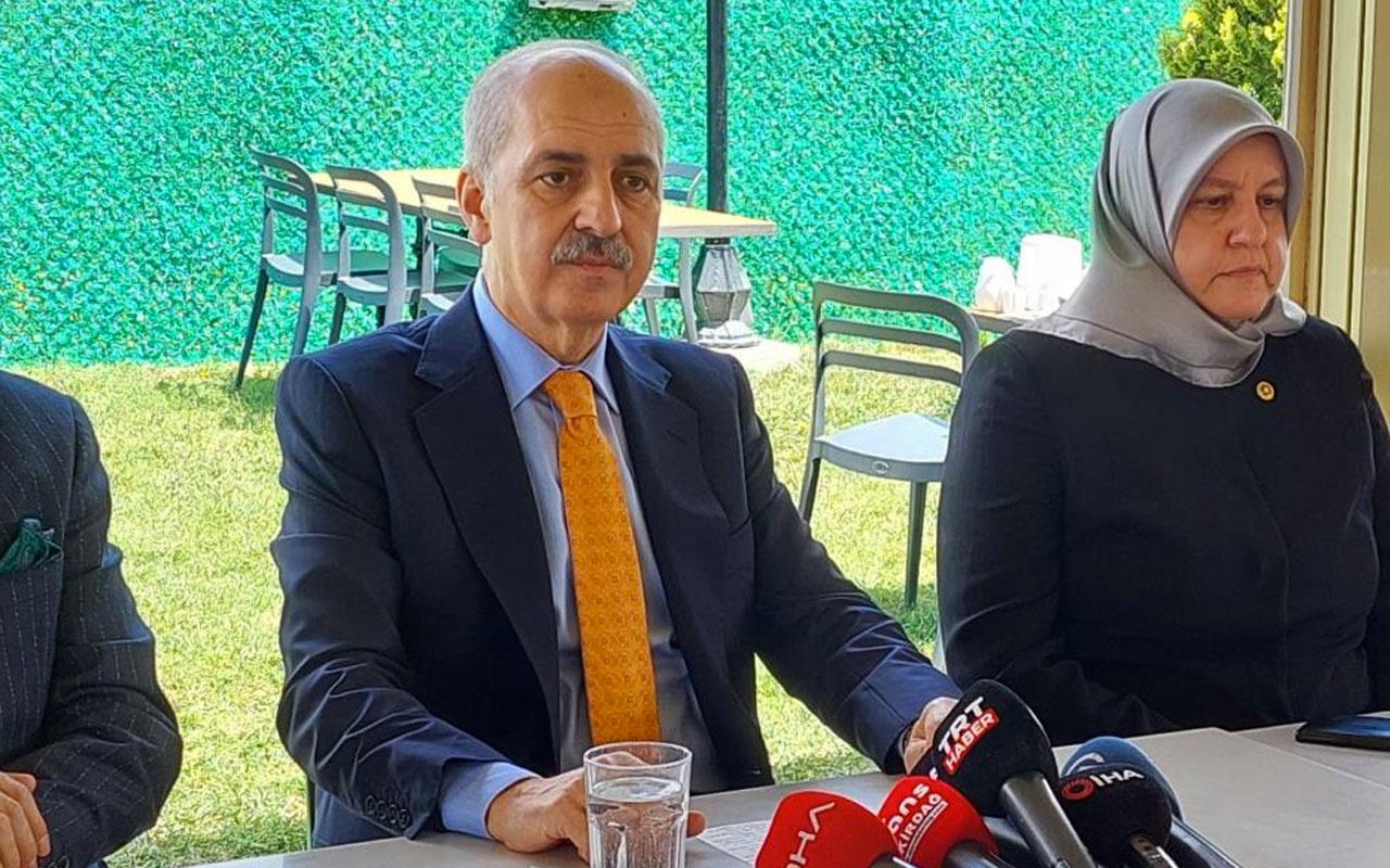 """Kurtulmuş """"Türkiye'siz NATO'nun Düşünülmesi Mümkün Değil"""""""