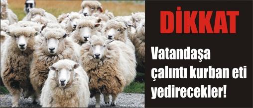 KURBAN BAYRAMI ÖNCESİ HIRSIZLARIN MESAİSİ BAŞLADI.