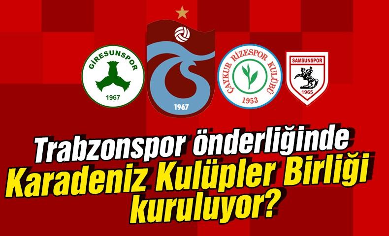 Karadeniz Kulüpler Birliği Kuruluyor