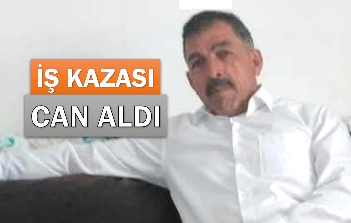 İNŞAATTA MEYDANA GELEN İŞ KAZASI CAN ALDI