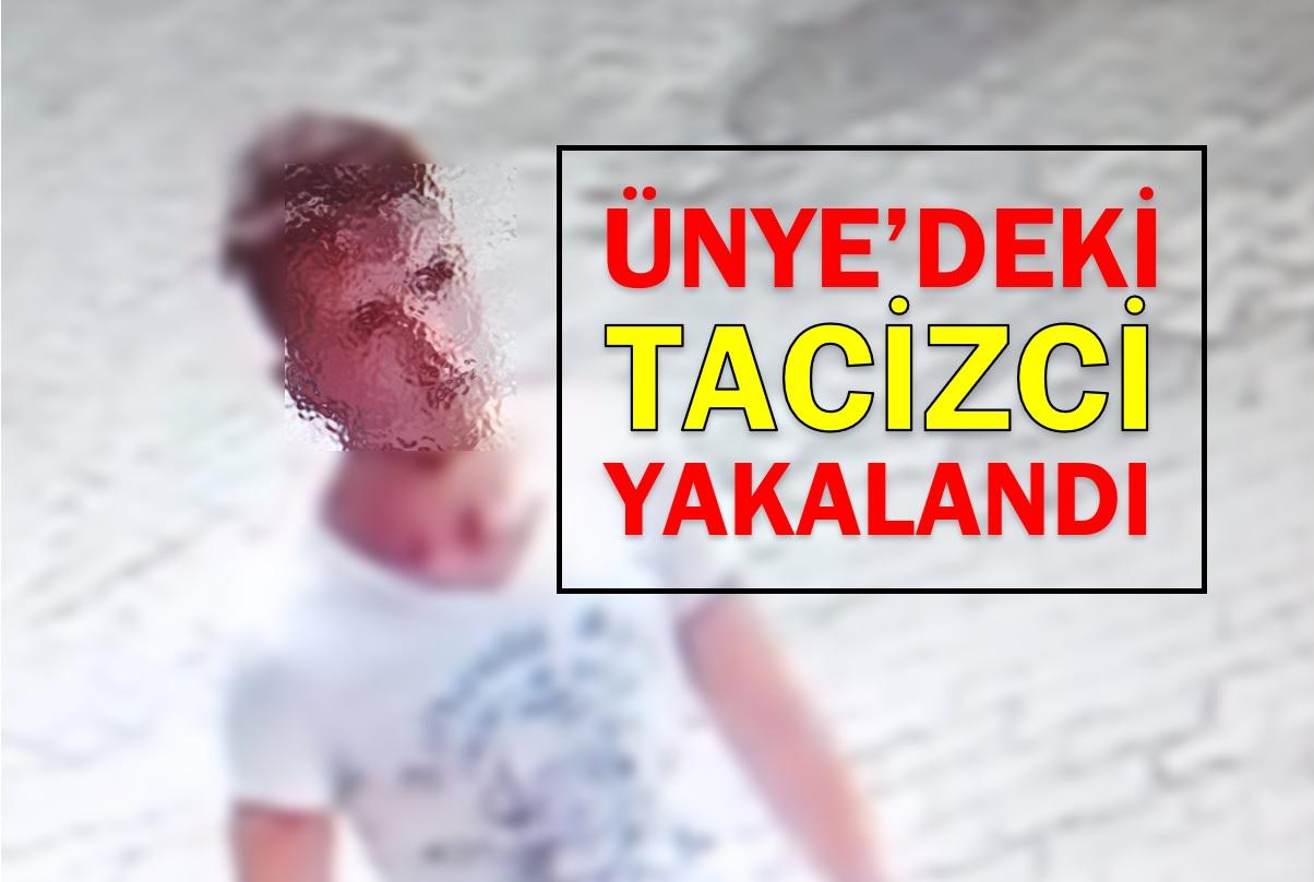 TACİZCİ GENÇ YAKALANDI