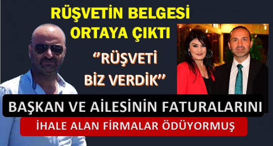 """İŞ ADAMI """"ESKİ BAŞKAN RÜŞVET ALDI,İHALE VERDİ"""""""