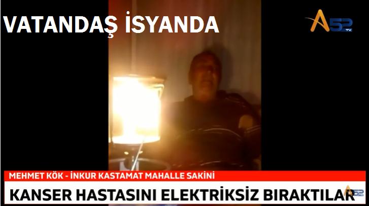 KANSER HASTASINA YEDAŞ ZULMÜ