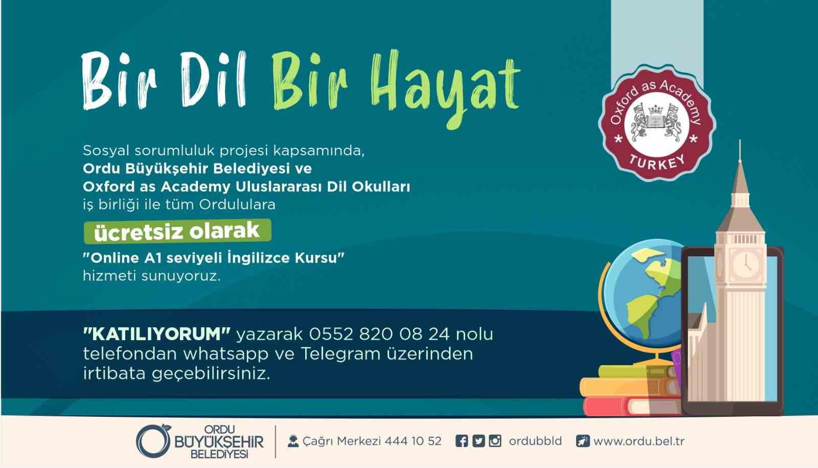 OXFORD İNGİLİZCE KURSU İÇİN SON FIRSAT!