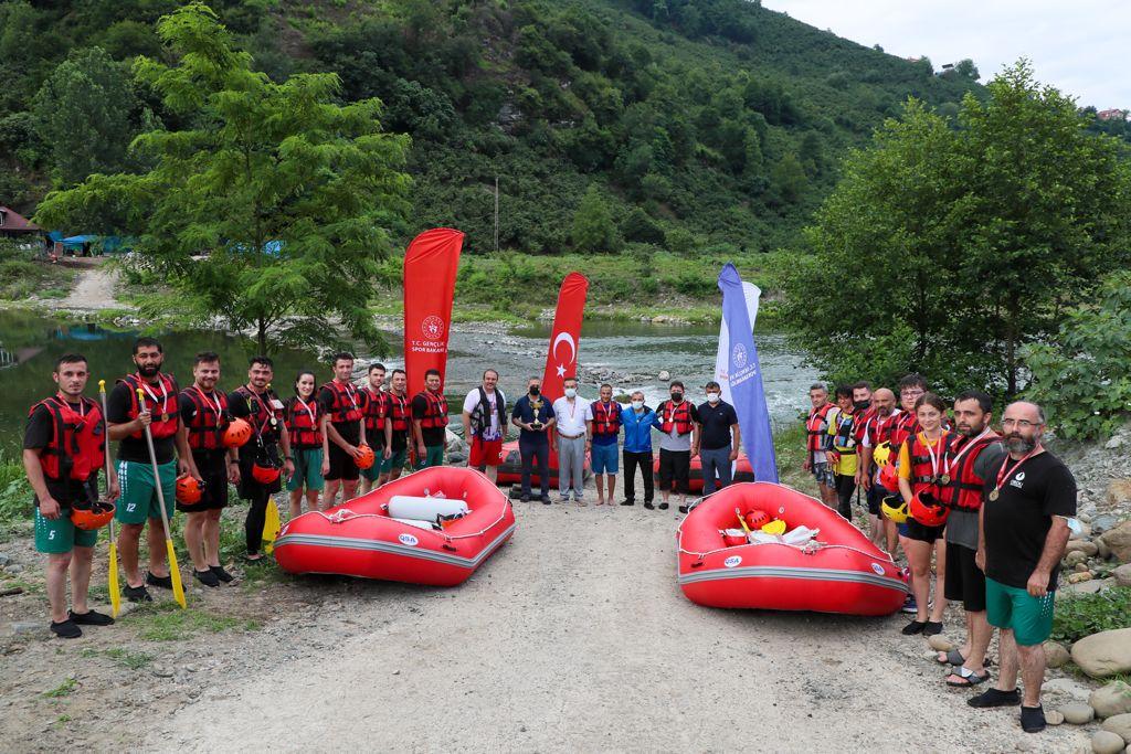 Rafting Yarışları Yapıldı