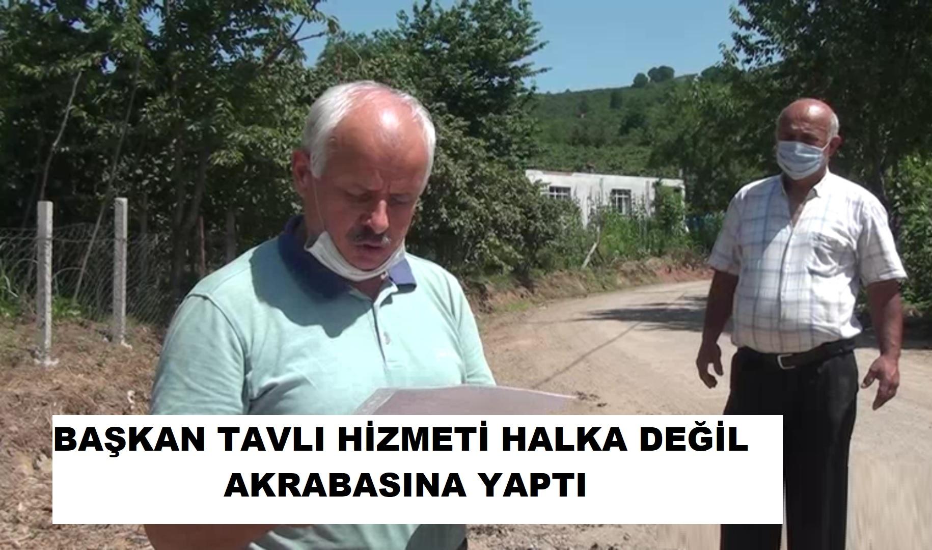"""SARIHALİL SAKİNLERİ TAVLI""""YA İSYAN ETTİ"""