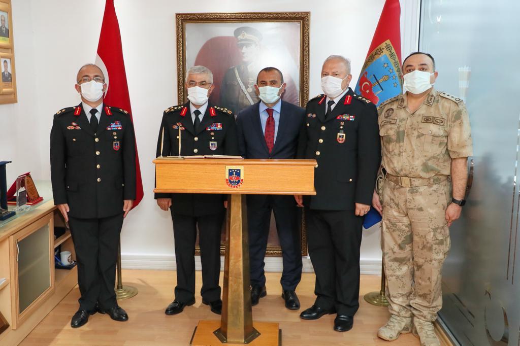 Jandarma Komutanı Orgeneral Çetin, Ordu'ya Geldi